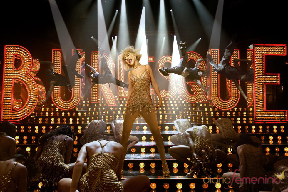 Christina Aguilera en 'Burlesque'