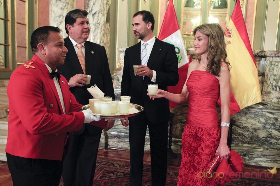 Letizia asombre en Perú