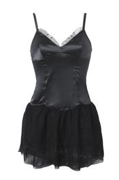 Sugerente camison negro de Etam
