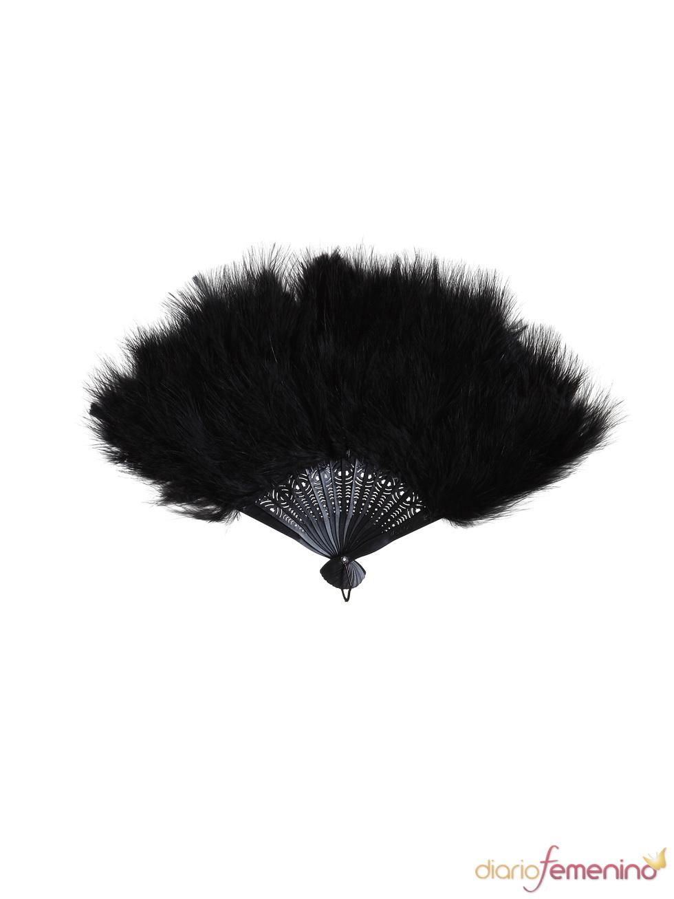 Abanico de plumas de Etam