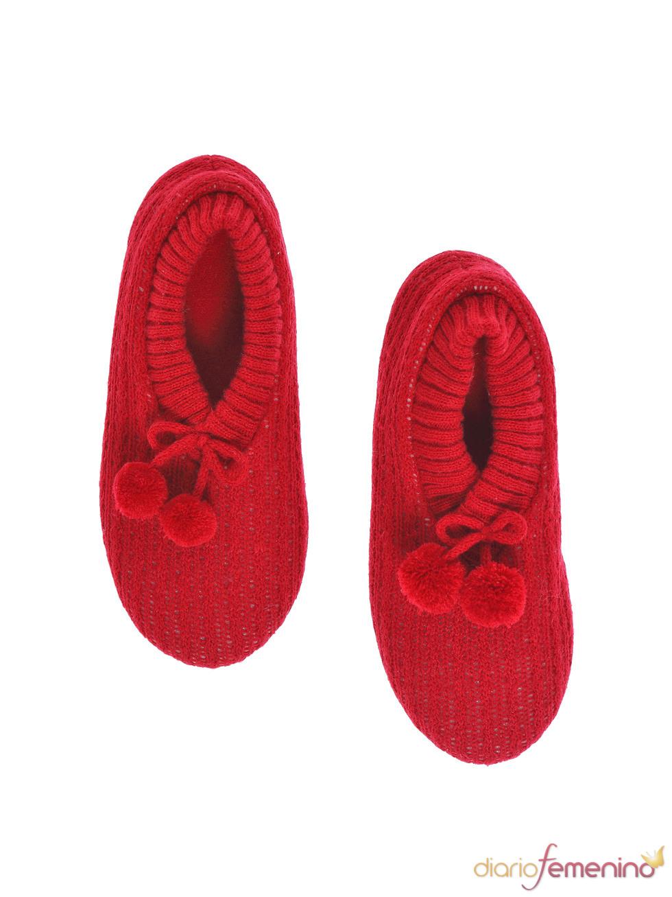 Zapatillas rojas de Etam