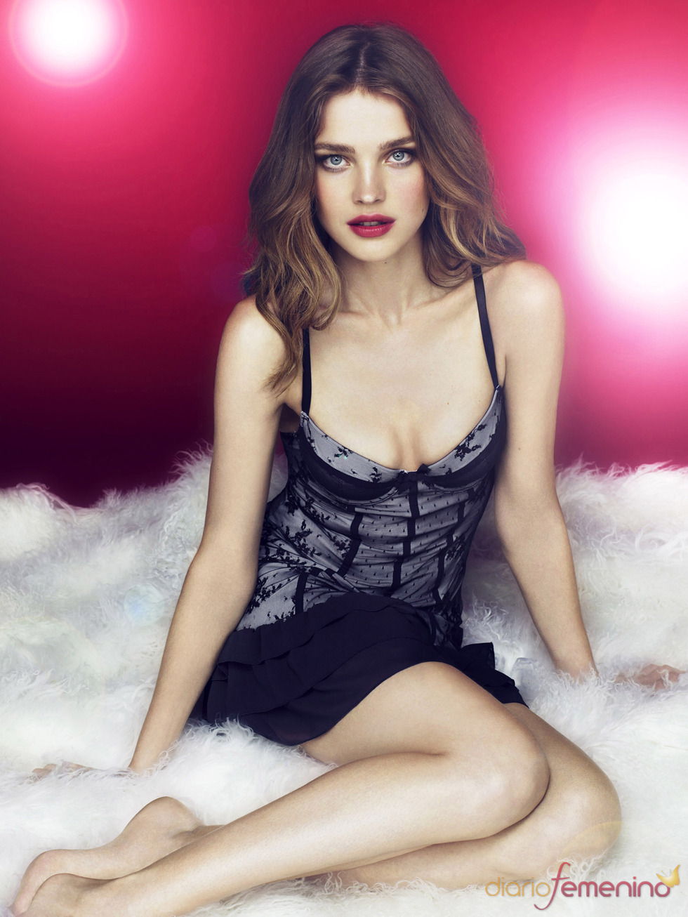 Catálogo de Etam para la Navidad: modelo Beauty