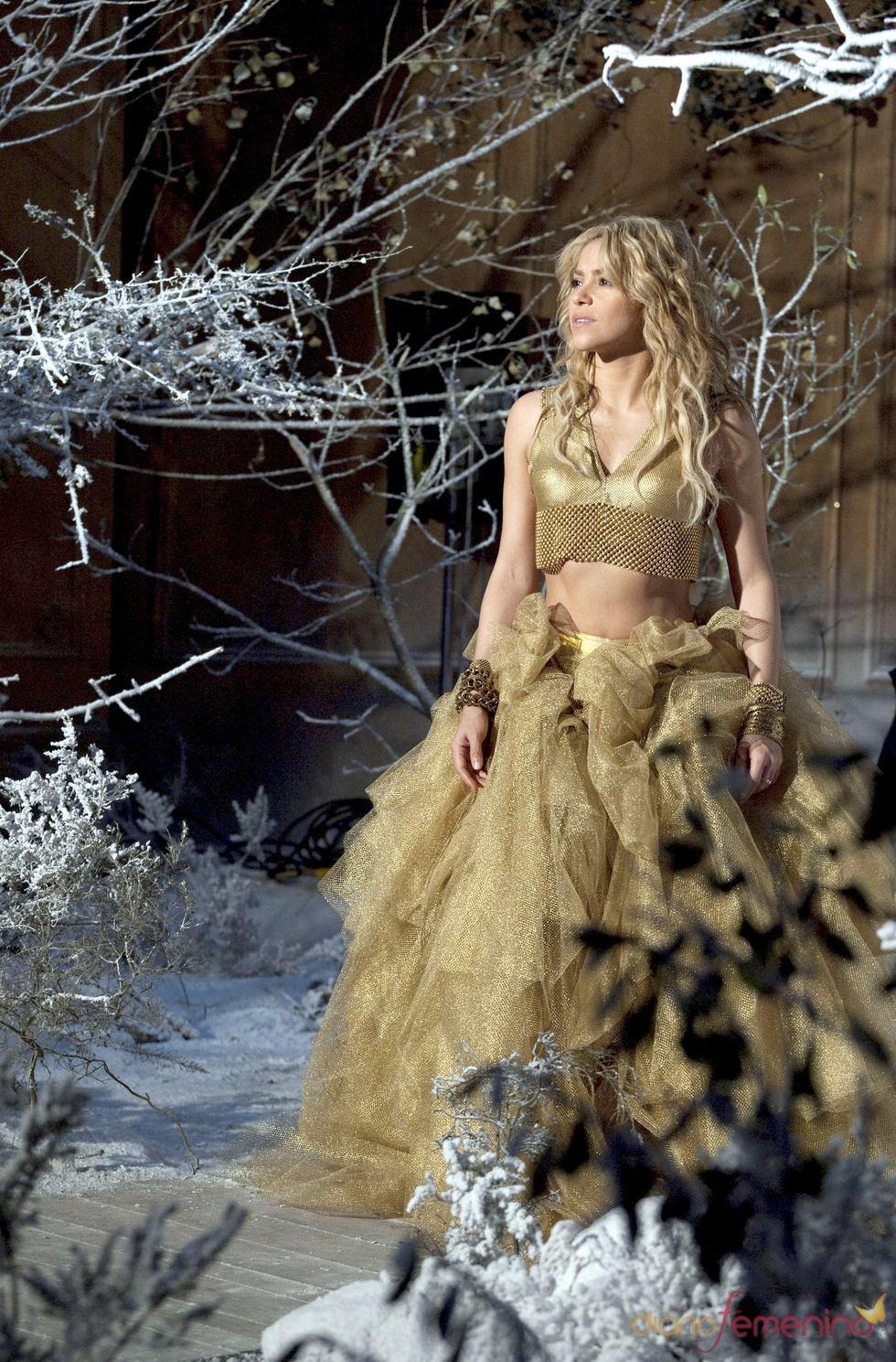 Shakira protagoniza el anuncio de Freixenet