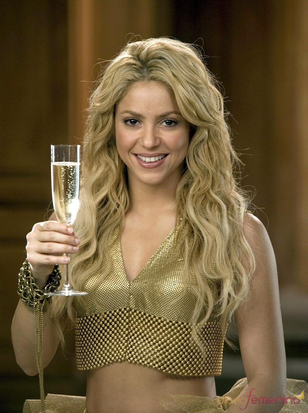 Shakira nos felicitará las navidades con Freixenet