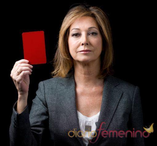 Ana Rosa Quintana saca tarjeta roja