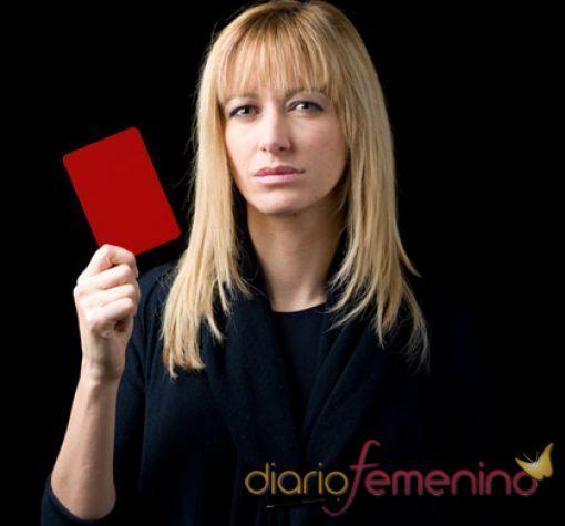 Susana Griso saca tarjeta roja