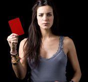 Bebe saca tarjeta roja