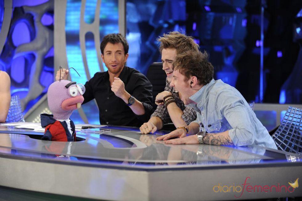 Risas de McFly con las hormigas de 'El Hormiguero'