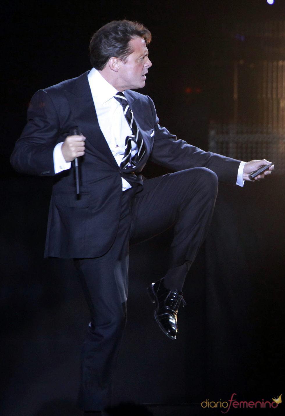 Luis Miguel en su gira 'Luis Miguel Tour 2010'