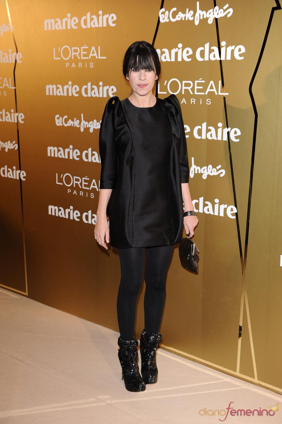 Amaya Arzuaga en los Premios Marie Claire 2010