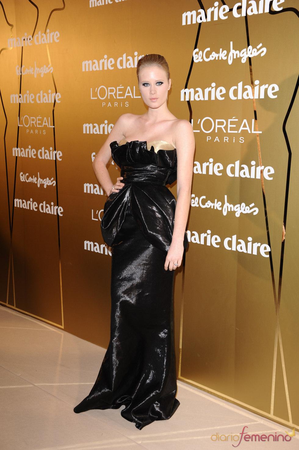 Katerina Strygina en los Premios Marie Claire 2010