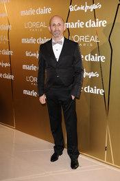 Modesto Lomba en los Premios Marie Claire 2010