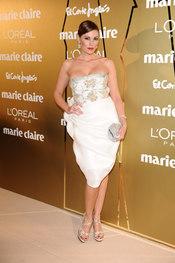 Raquel Rodríguez en los Premios Marie Claire 2010