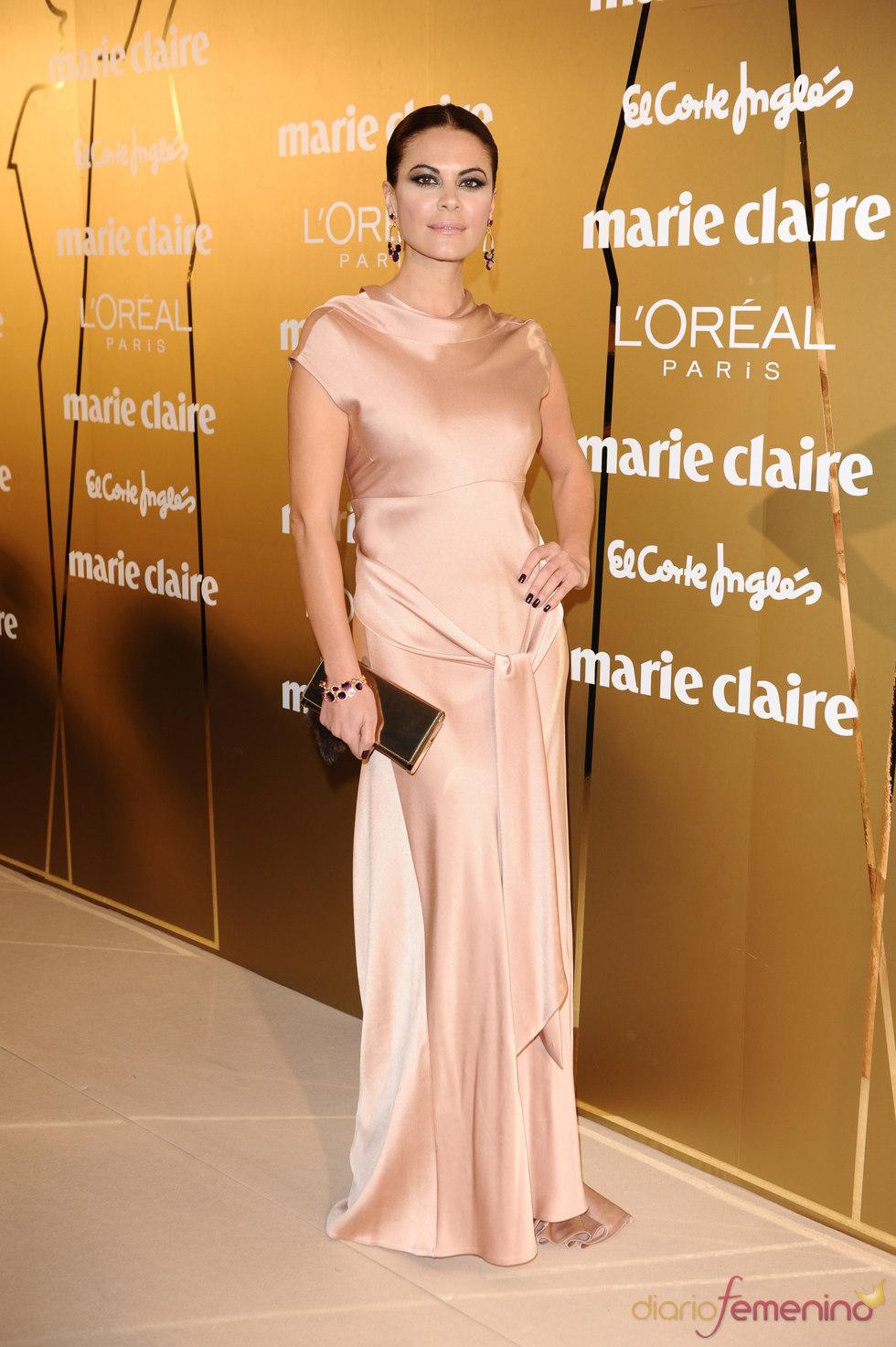 María José Suárez en los Premios Marie Claire 2010