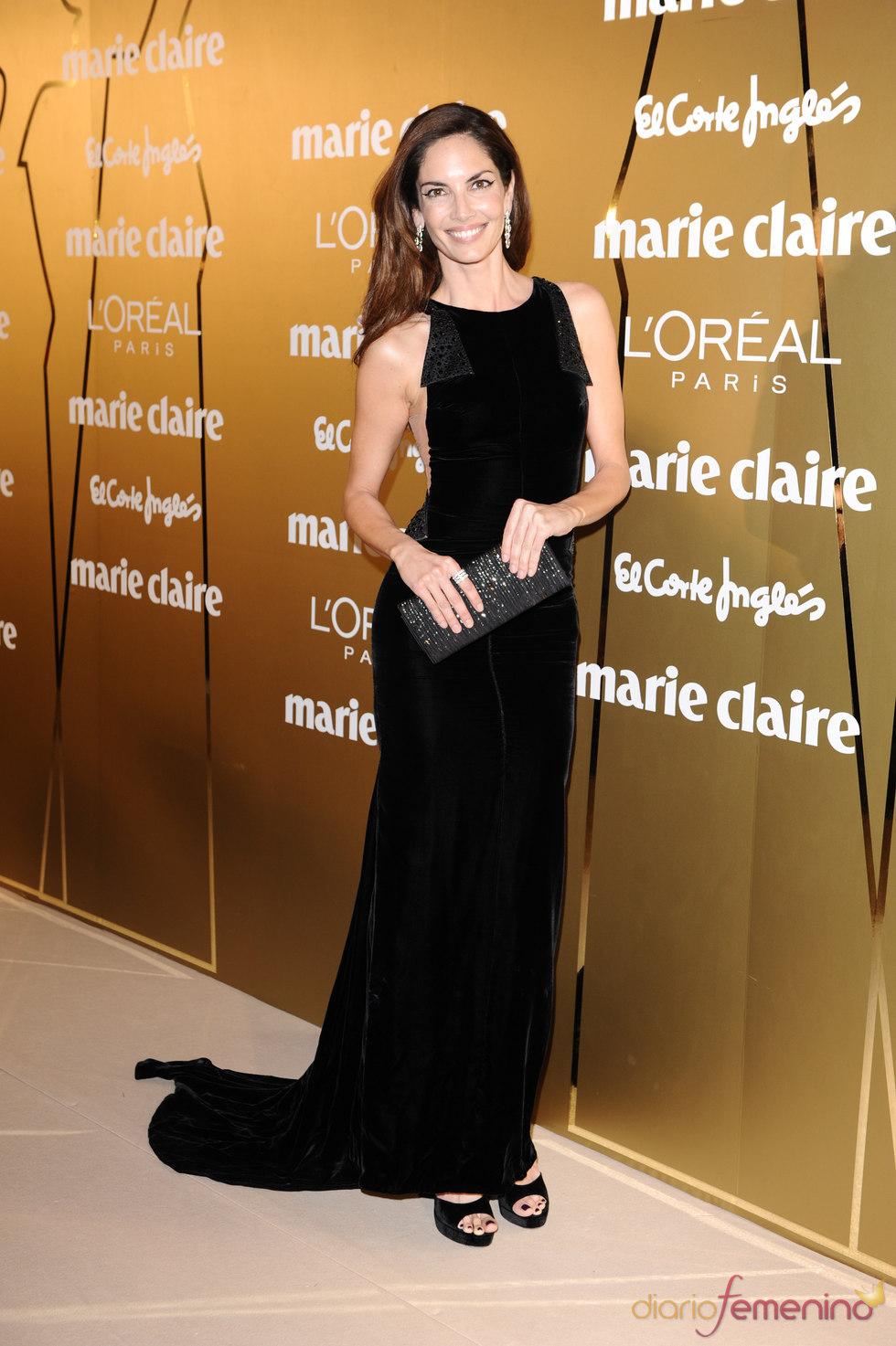 Eugenia Silva en los Premios Marie Claire 2010