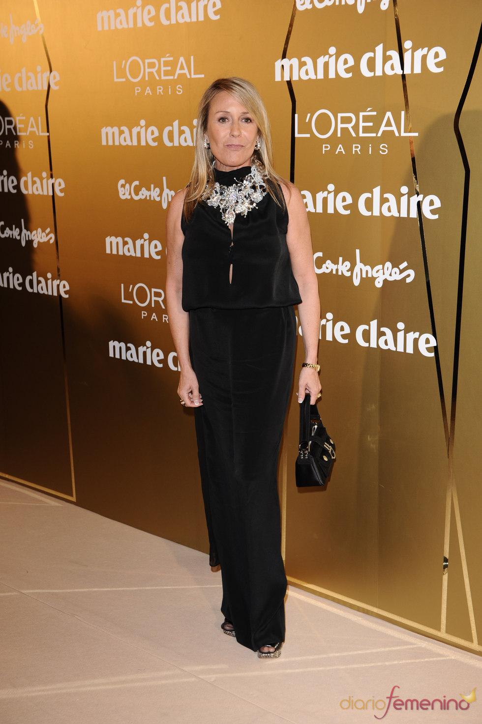 Marina Castaño en los Premios Marie Claire 2010