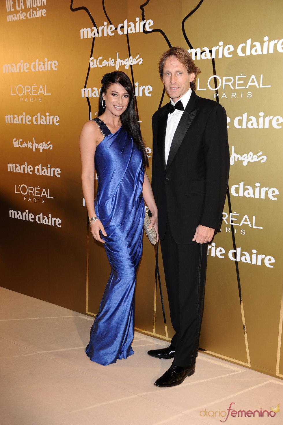 Sonia Ferrer y Marco Vricella en los Premios Marie Claire 2010