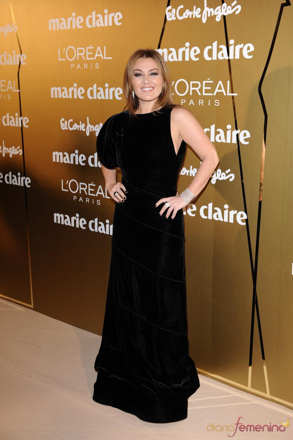 Amaia Montero en los Premios Marie Claire 2010