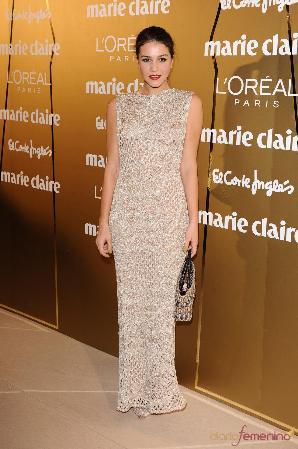 Ángela Missoni en los Premios Marie Claire 2010