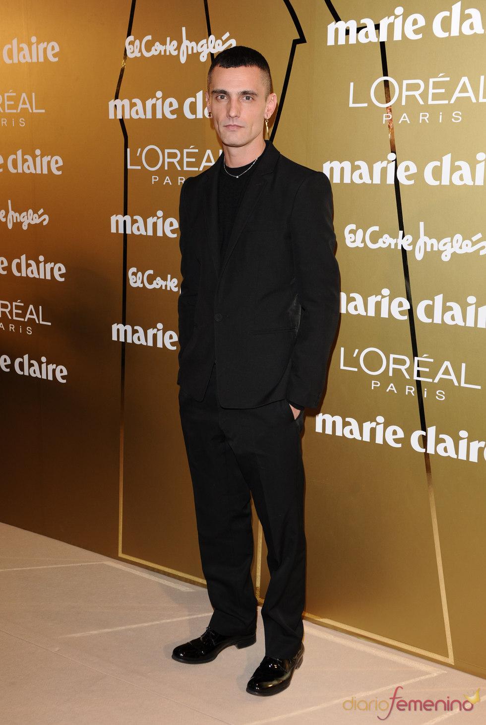 David Delfín en los Premios Marie Claire 2010
