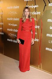 Martina Klein en los Premios Marie Claire 2010