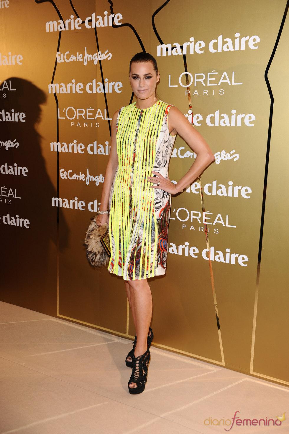 Yasmin Lebon en los Premios Marie Claire 2010