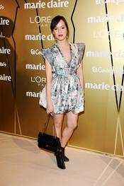 Verónica Sánchez en los Premios Marie Claire 2010