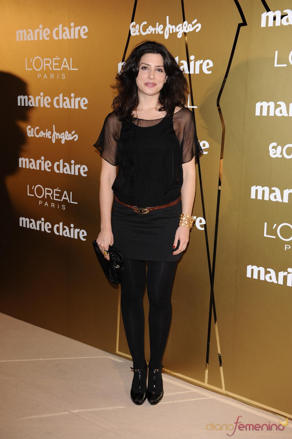 Bárbara Lennie en los Premios Marie Claire 2010