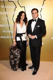 Adriana Carolina Herrera con su marido Miguel Báez 'El Litri'