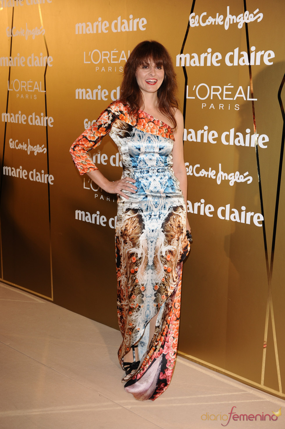 Ana Locking en los Premios Marie Claire 2010