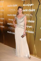 Anne Igartiburu en los Premios Marie Claire 2010