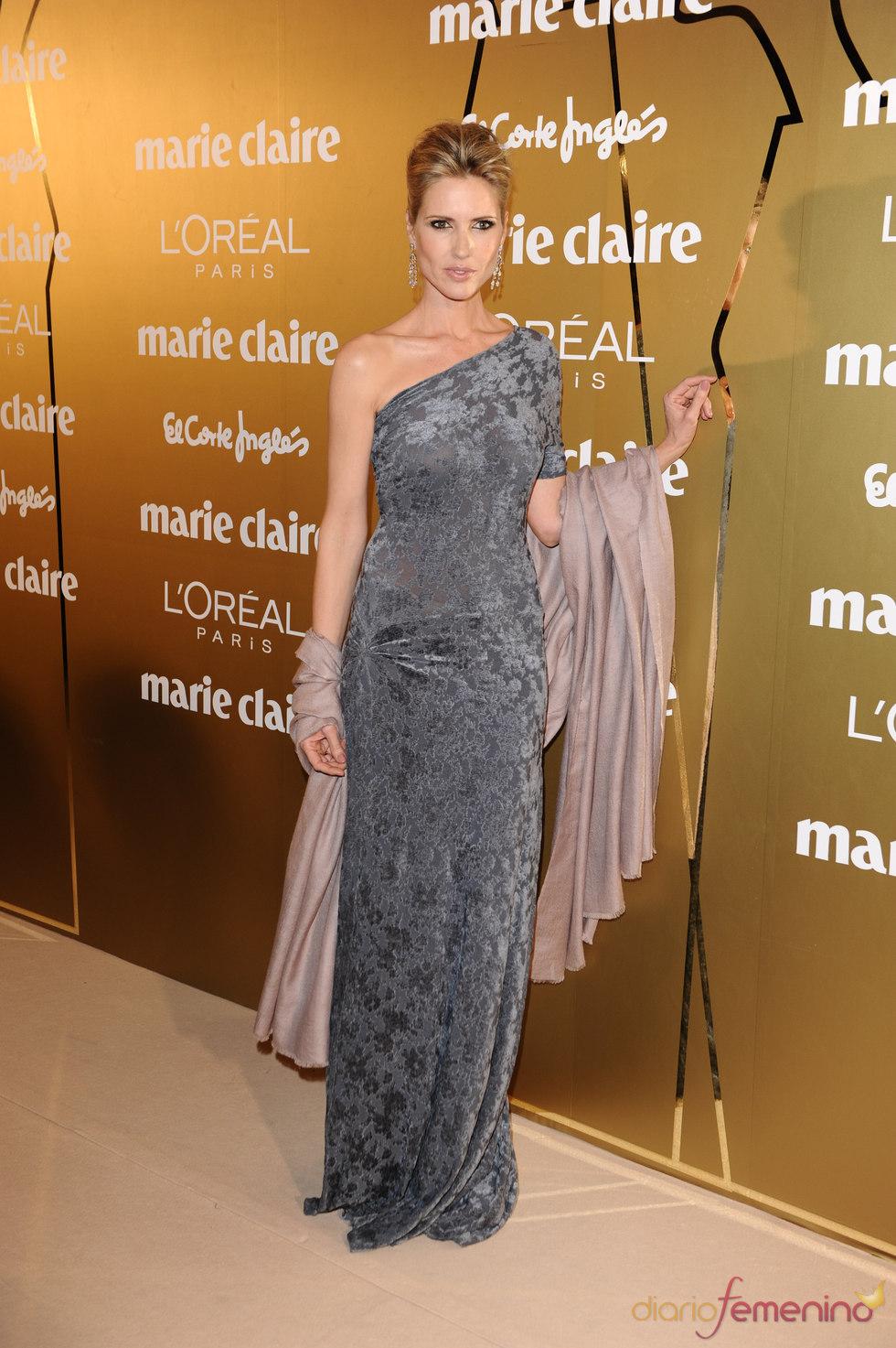 Judit Mascó en los Premios Marie Claire 2010