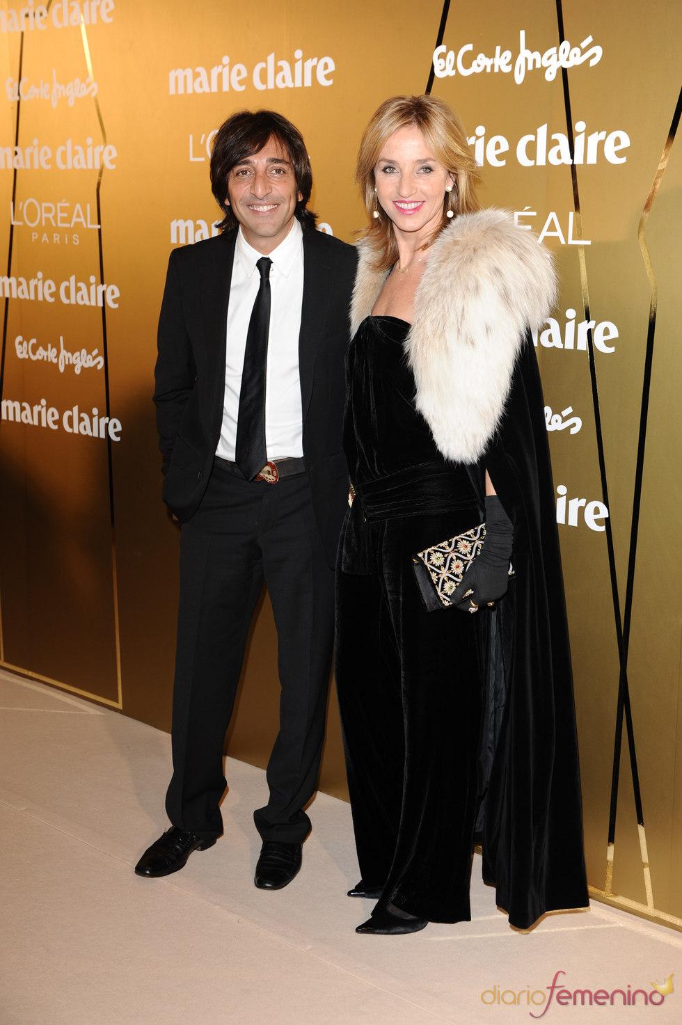 Antonio Carmona y Mariola Orellana en los Premios Marie Claire 2010