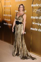 Fiona Ferrer en los Premios Marie Claire 2010