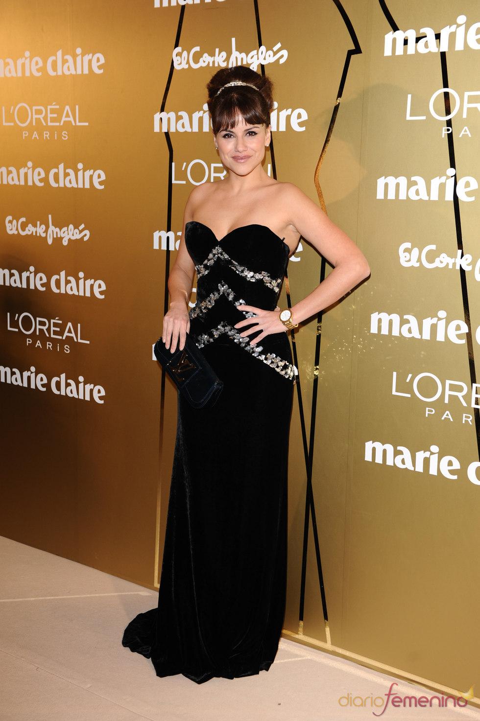 Mónica Hoyos en los Premios Marie Claire 2010