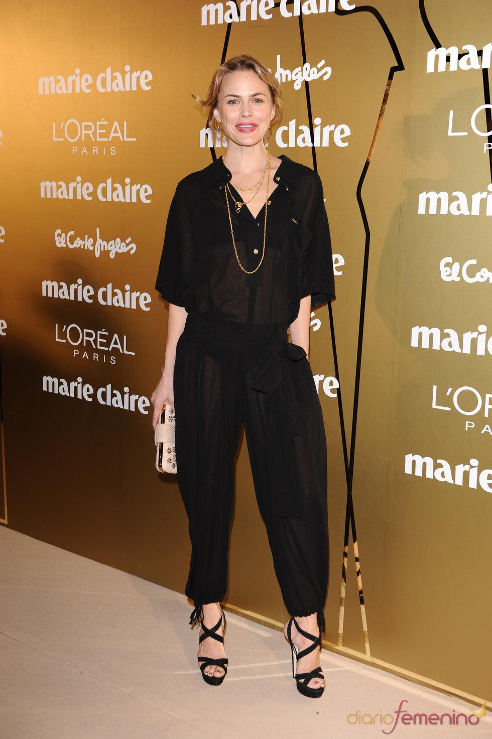 Verónica Blume en los Premios Marie Claire 2010
