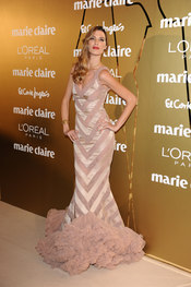 Laura Sánchez en los Premios Marie Claire 2010