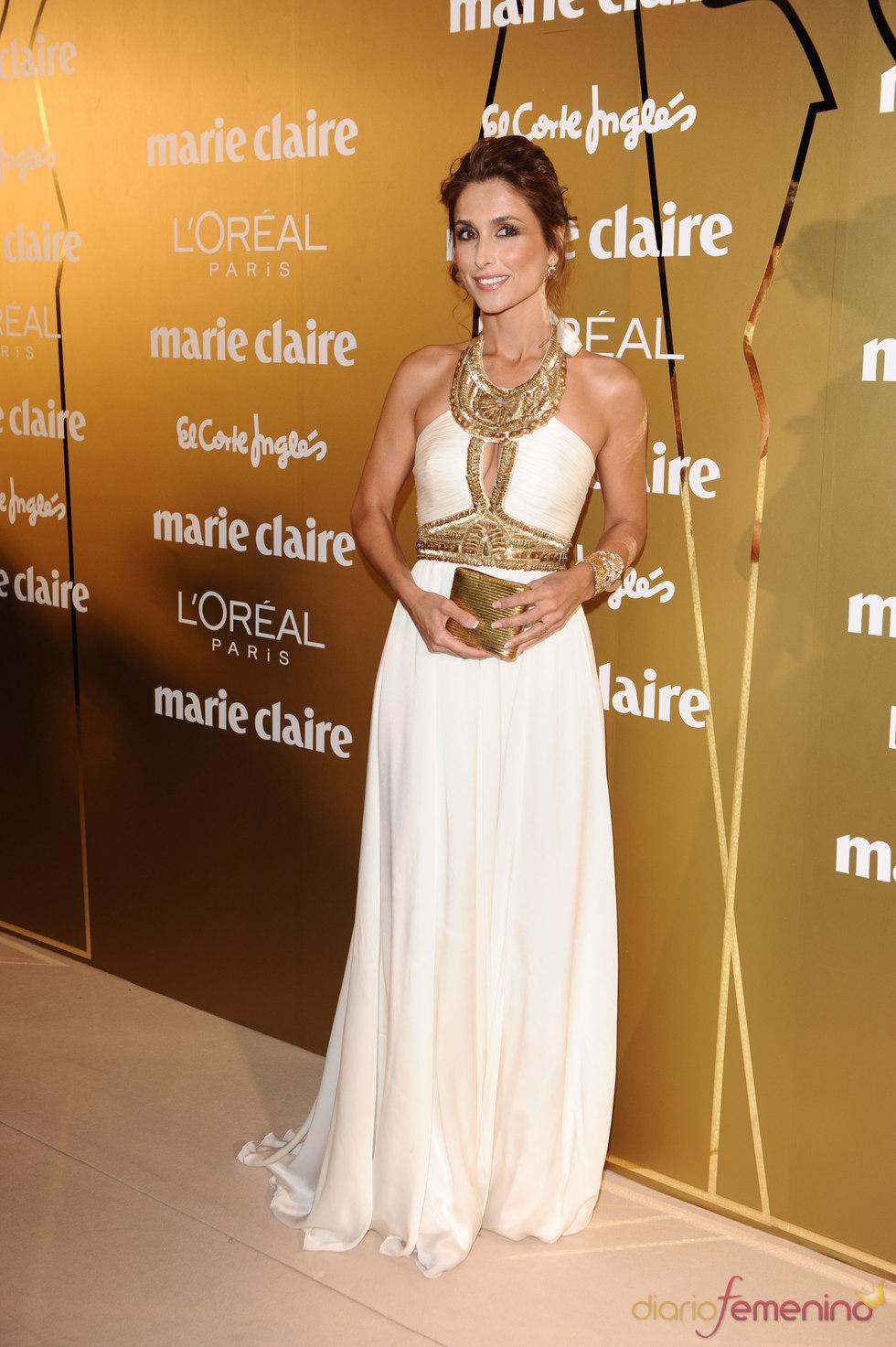 Paloma Cuevas en los Premios Marie Claire 2010