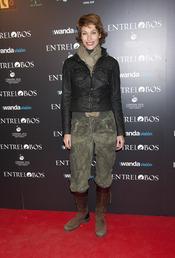 Cristina Piaget en el estreno de 'Entrelobos'