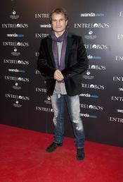 Javier Castillejo en el estreno de 'Entrelobos'