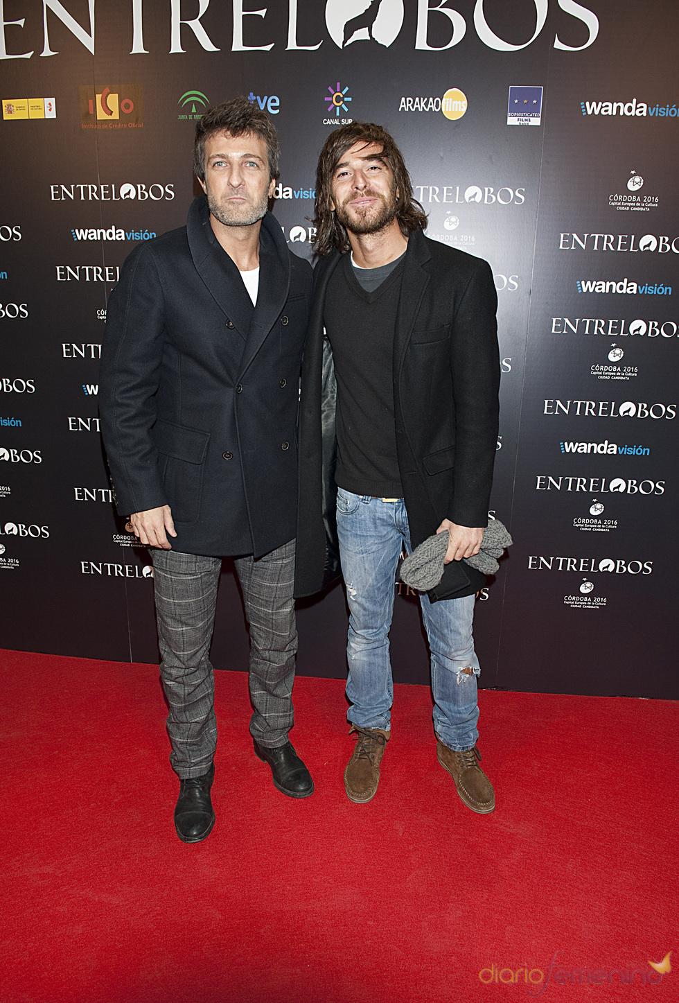Jesús Olmedo en el estreno de 'Entrelobos'