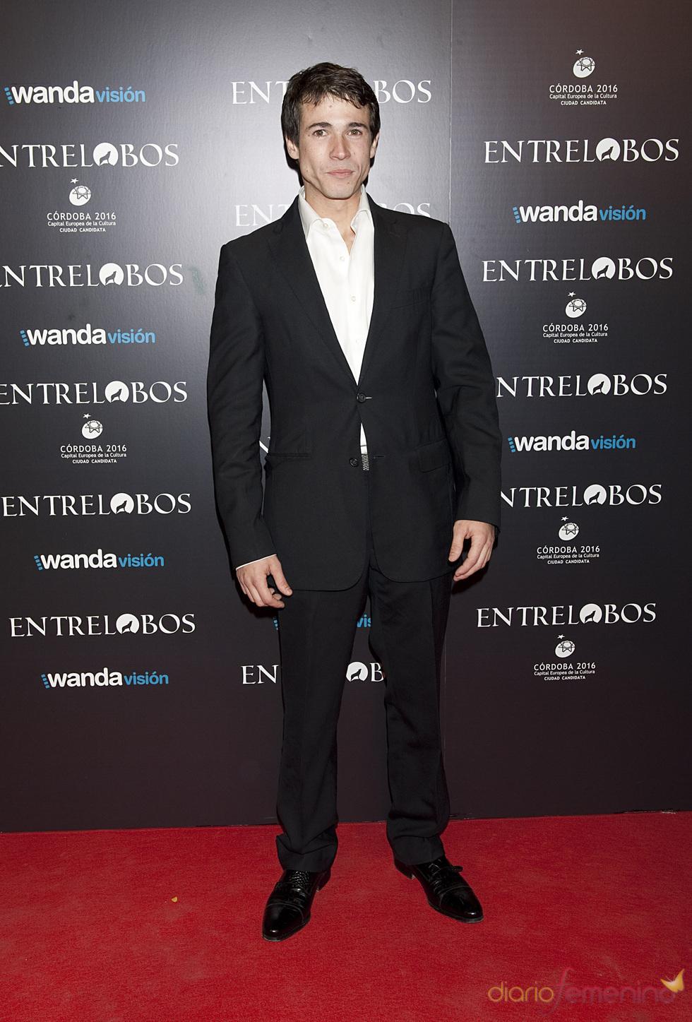 Juan José Ballesta en el estreno de 'Entrelobos'