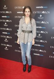 Silvia Alonso en el estreno de 'Entrelobos'