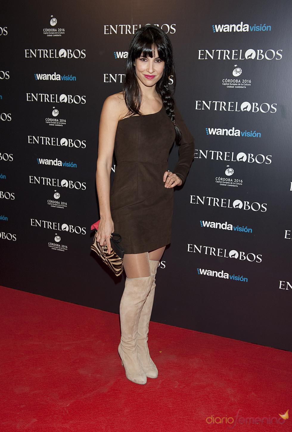 Xenia Tostado en el estreno de 'Entrelobos'