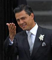 Enrique Peña se casa