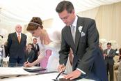 Angélica Rivera y Enrique Peña se convierten en marido y mujer