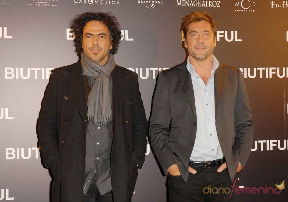 Alejandro González Iñárritu y Javier Bardem estrenan 'Biutiful'