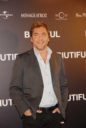 Javier Bardem en el estreno de 'Biutiful'