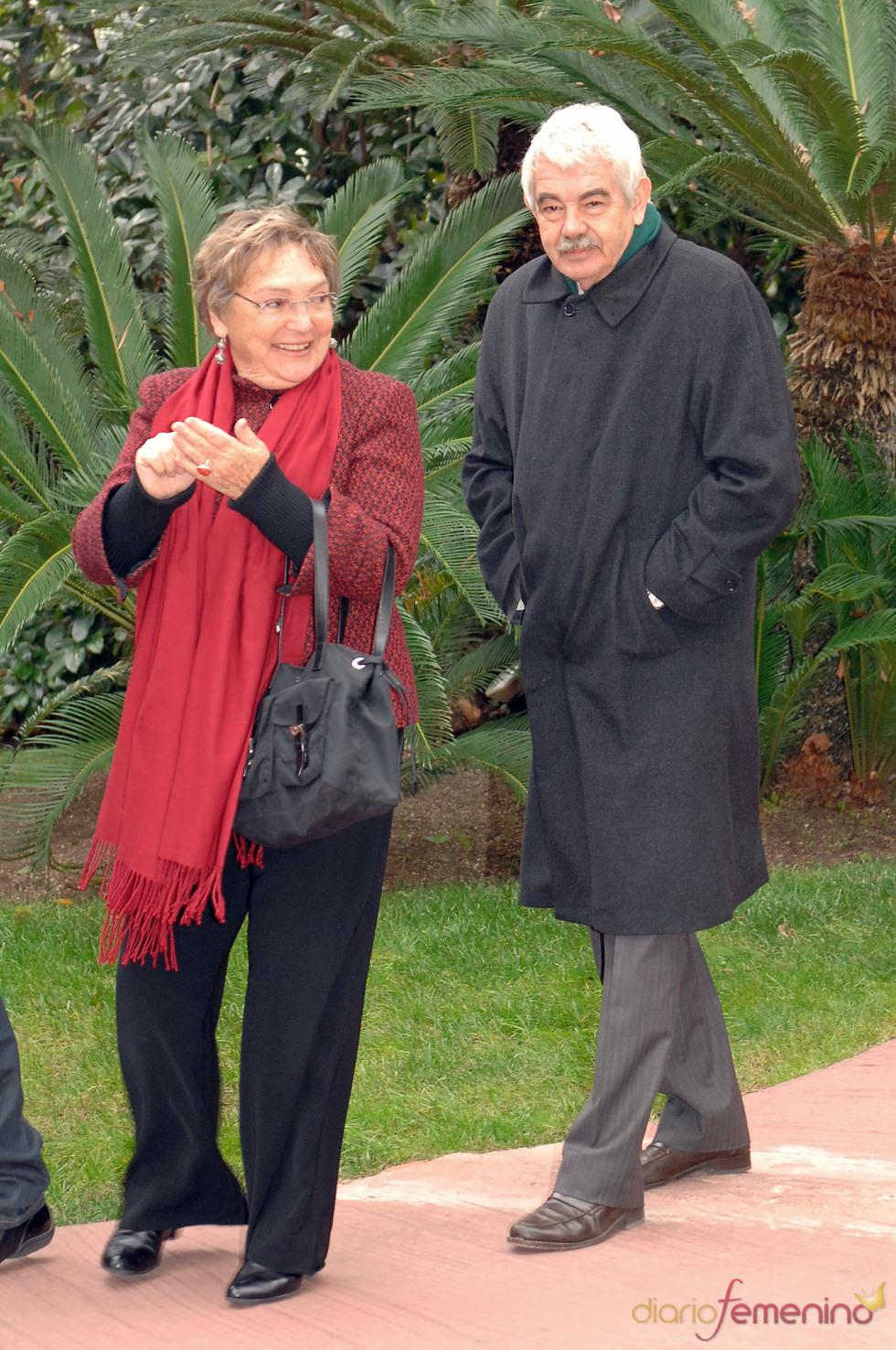 Pasqual Maragall y Diana Garrigosa en los Premios Protagonistas 2010