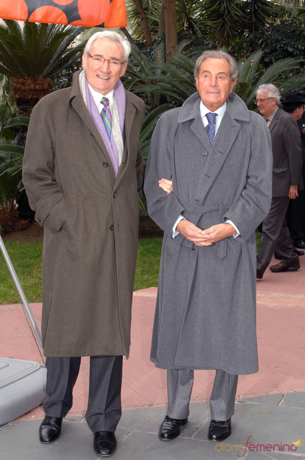 Premios Protagonistas 2010 con Luis del Olmo y Arturo Fernández